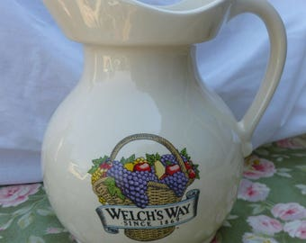 Welch's Way Juice Pitcher