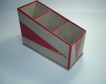 Box remote rectangular three compartments