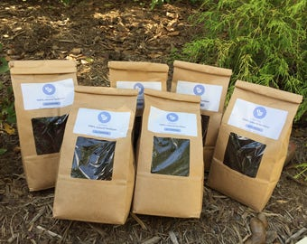 organic fertilizer (9 lbs) - Organic grounds Coffee compost - Nitrogen rich fertilizer - Organic top soil for gardening - ecofriendly