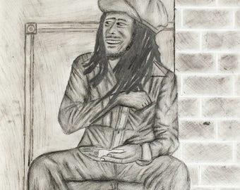 Bob Marley Print