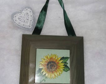 frame 1 sunflower flower