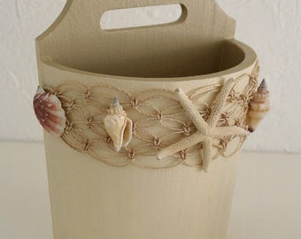 """""""Starfish"""" wooden bucket"""