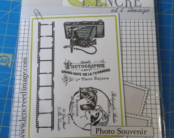 Stamp transparent clear unmounted - Normandie