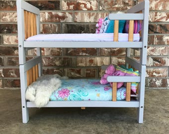 18-Inch Doll Bunk Bed