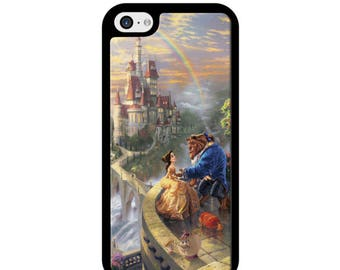 Beauty And The Beast Painting Phone Case