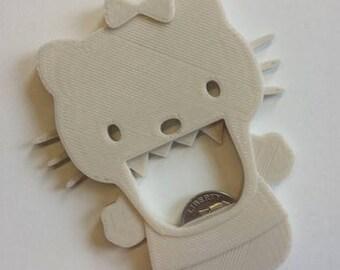 3D Printed Hello Kitty Bottle Opener