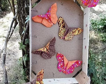 Origami fabric Butterfly Kit