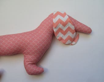 Cushion or blanket in the shape of Dachshund