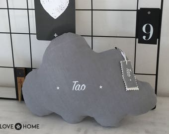 Customizable linen cloud cushion