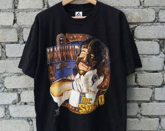 Vintage 90s Mankind Mick Foley Workship The Sock World Wrestling Federation