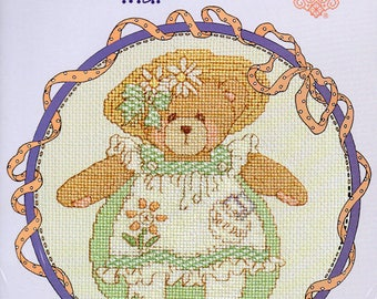 Cherished Teddies Roly Poly May Counted Cross Stitch Kit