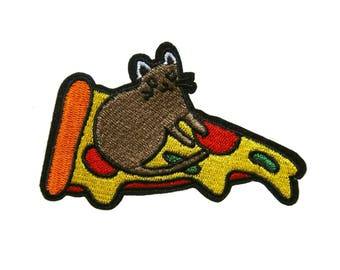 Food Iron On Patch Dessert Embroidered Applique Patches For Jackets