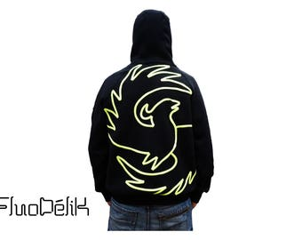 Hoodie fleece PHOENIX made in France