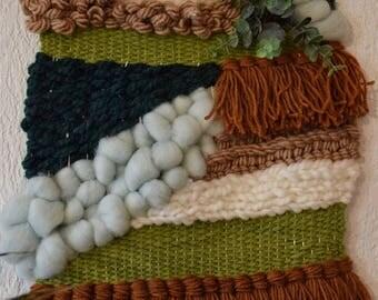 Jungle wall weaving