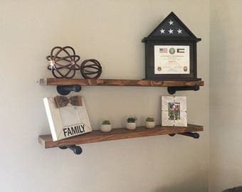 Custom Wood Shelves