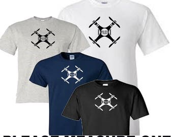 drone pilot t shirt all sizes upto 5xl free first class postage uk