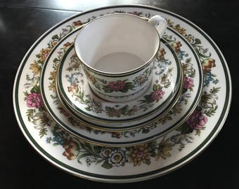 Spode Tapestry Bone China 5 piece place setting