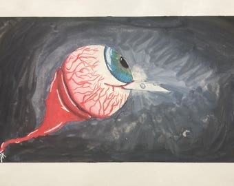 Razor sharp Vision original painting