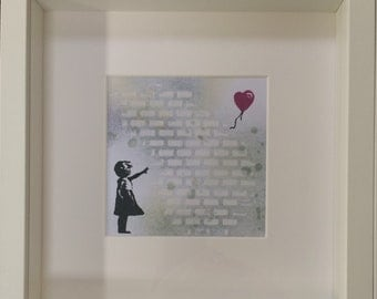 Banksy inspired Hope picture