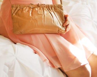 Vintage 70's-80's Anne Klein Leather Bag
