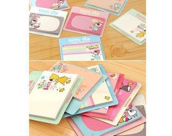 Little Talk Pony Brown Kawaii Cute Post-it Notes Memo Stationery