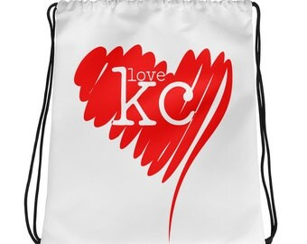 Love KC Drawstring bag