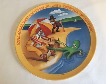 1977 McDonald's Four Season's Melamine Plates by Lexington - Summer