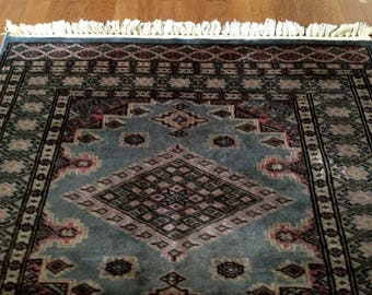 Vintage Persian carpet/tablecloth