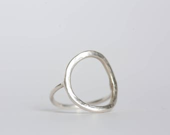 Sterling Silver Circle Ring