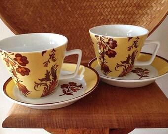 Tea Cup and Saucer Set