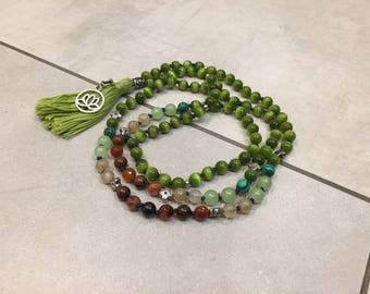 Peace and balance mala