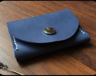 Leather Wallet/Wallet Blue