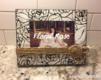 Distressed Picture Frame 4x6, 5x7