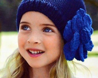 Tutoriel petit bonnet fillette