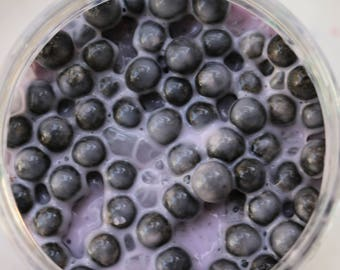 purple milk tea boba