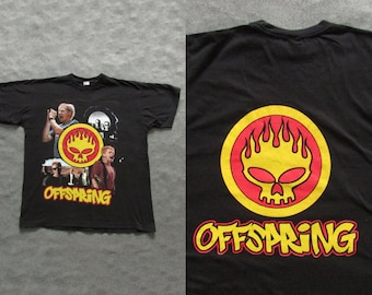 00s Vintage Bootleg The Offspring T-Shirt Size M