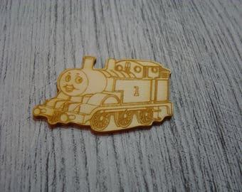 Train 1526 embellishment wooden creations