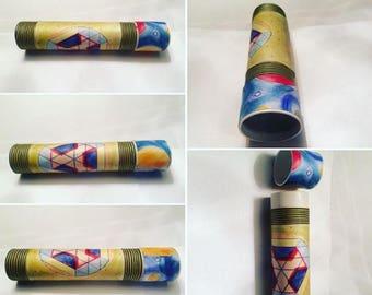 Handmade Kaleidoscope, handmade mandala, 20 cm