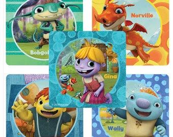 """25 Wallykazam Stickers, 2.5"""" x 2.5"""" Each"""