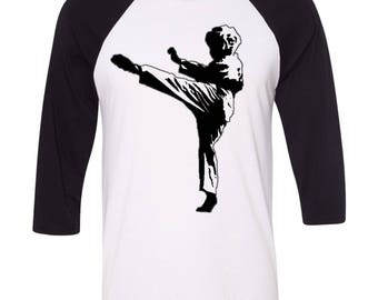 Custom Photo Karate Shirt, Martial Arts Shirt, Ladies Tank Top, Karate Kid, Karate, Mixed Martial Arts, Custom Made Shirt, Karate Theme