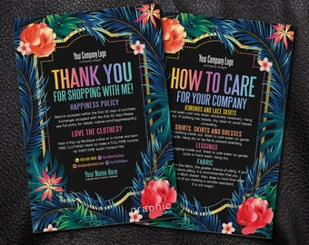 Thank You card, Care card, Thank You Cards, New happiness policy, home office approved, fashion consultant, llr cards, For retailer