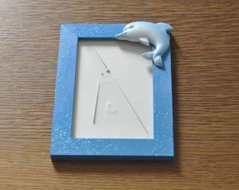 cadre photo dauphin