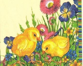 2 chicks (321) paper napkins
