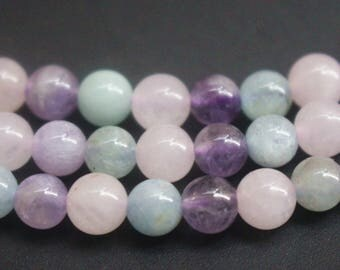6mm 8mm 10mm 12mm AA Dream Lavender Quartz Beads , loose beads,gemston beads,quartz gemstone,15 inch strands.