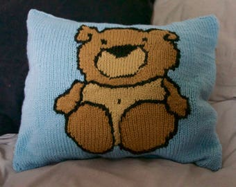 """Cushion bear, """"sweet"""" Collection, a gift original and humorous."""