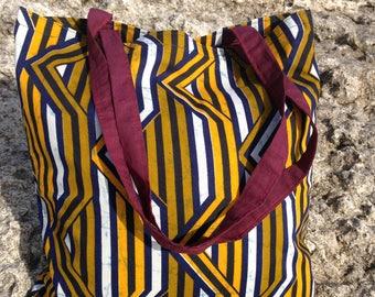 """Multi use bag"""" Kitenge Mistari"""""""