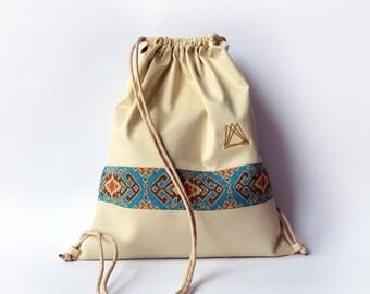 Aigiptos  drawsting backpack