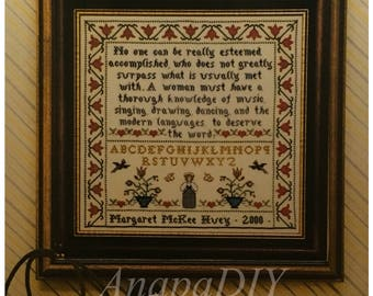 PDF Cross-Stitch Sampler