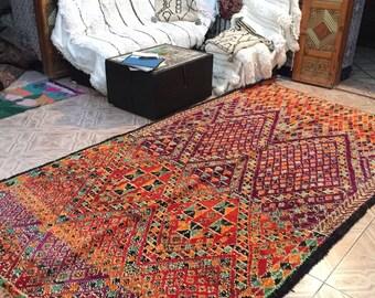 Beni Saaden vintage  carpet,320x185cm, Moroccan carpet, wool rug, Beni Saaden rug, vintage carpet, berber textiles, berber carpet,