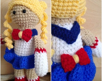 Sailor Moon Doll Pattern